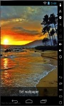 Sunset At Black Sea Live Wallpaper screenshot 1/2