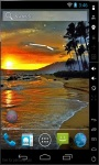Sunset At Black Sea Live Wallpaper screenshot 2/2