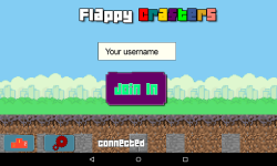 Flappy Crafters screenshot 1/3