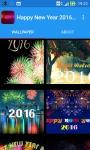 Happy New Year 2016 Wallpaper screenshot 2/6