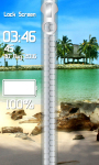 Beach Zipper Lock Screen Best screenshot 4/6