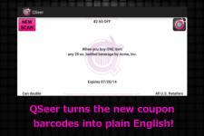 QSeer Coupon Reader active screenshot 2/6