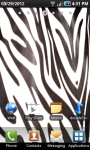Zebra Print LWP screenshot 1/2