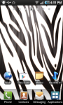 Zebra Print LWP screenshot 2/2