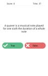 WikiTest Trivia Quiz Game screenshot 3/6