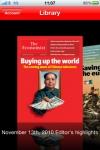 The Economist on iPhone screenshot 1/1