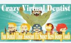 Crazy Virtual Dentist Fix Super Hero Decayed Tooth screenshot 1/6