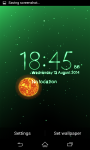 Live Wallpaper Weather Clock  screenshot 1/6