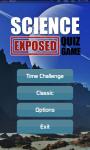 Science Exposed Quiz screenshot 1/5