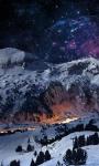 Night Sky Snow Live Wallpaper screenshot 1/3