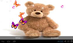 3D Teddy Bear Live Wallpaper screenshot 1/5