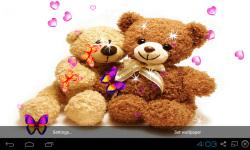 3D Teddy Bear Live Wallpaper screenshot 2/5