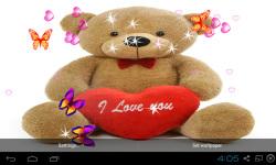 3D Teddy Bear Live Wallpaper screenshot 4/5