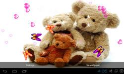 3D Teddy Bear Live Wallpaper screenshot 5/5