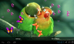 3D Cute Bird Live Wallpapers screenshot 1/4