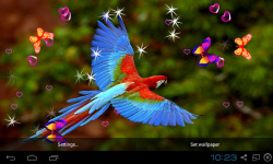 3D Cute Bird Live Wallpapers screenshot 3/4