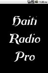 HaitiRadio  Pro screenshot 1/3