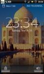 Taj Mahal India Mausoleum Live Wallpaper screenshot 2/6