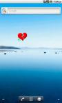 Broken Heart Battery Widget screenshot 1/4