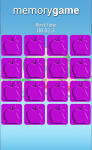 Fruits Memory Game for Android screenshot 5/6