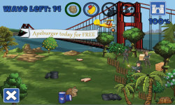 Ape Planet Tower Defence screenshot 2/5