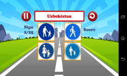 World Traffic Signs Test screenshot 2/6