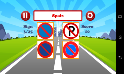 World Traffic Signs Test screenshot 3/6