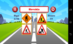 World Traffic Signs Test screenshot 4/6