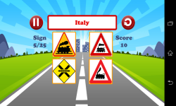 World Traffic Signs Test screenshot 5/6