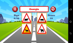 World Traffic Signs Test screenshot 6/6