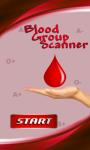 Blood Group Scanner Prank screenshot 1/4