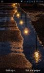 Rainy Night Road LWP screenshot 1/3
