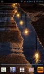 Rainy Night Road LWP screenshot 3/3