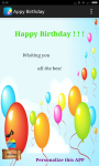 Happy Birthday Greeting Card screenshot 1/4