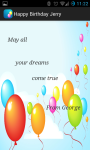 Happy Birthday Greeting Card screenshot 3/4