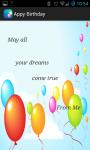 Happy Birthday Greeting Card screenshot 4/4