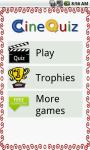 CineQuiz - cinema quiz screenshot 1/5