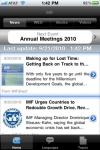 IMF News and Data screenshot 1/1