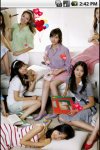 SNSD Girl Generation Cute Live Wallpapers screenshot 1/5