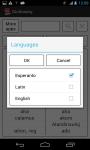 Dictionary EN-EO EN-LA screenshot 2/3