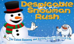 Despicable Snowman  Cutest Running Game Frozen Fan screenshot 1/2