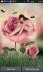 Fairy In Rose LWP screenshot 2/3