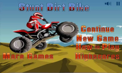 Stunt Dirt Bike Free screenshot 1/4