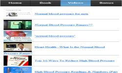 Blood Pressure Chart screenshot 3/3