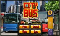 Free Hidden Object Games - City Bus screenshot 1/4
