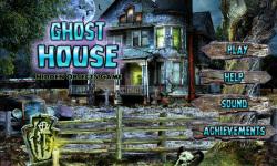 Free Hidden Object Games - Ghost House screenshot 1/4