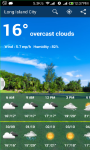 Weather Info and Forecast screenshot 1/3