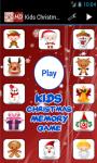 Kids Christmas Memory Game screenshot 1/4