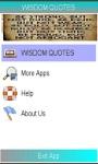 WISDOM QUOTES GUIDES screenshot 1/1