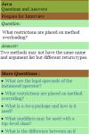 Learn Java Q A screenshot 2/3